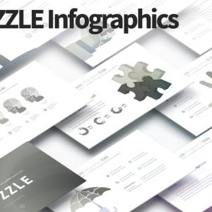 PUZZLE - PowerPoint Infographics Slides