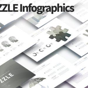 PUZZLE - PowerPoint Infographics Slides