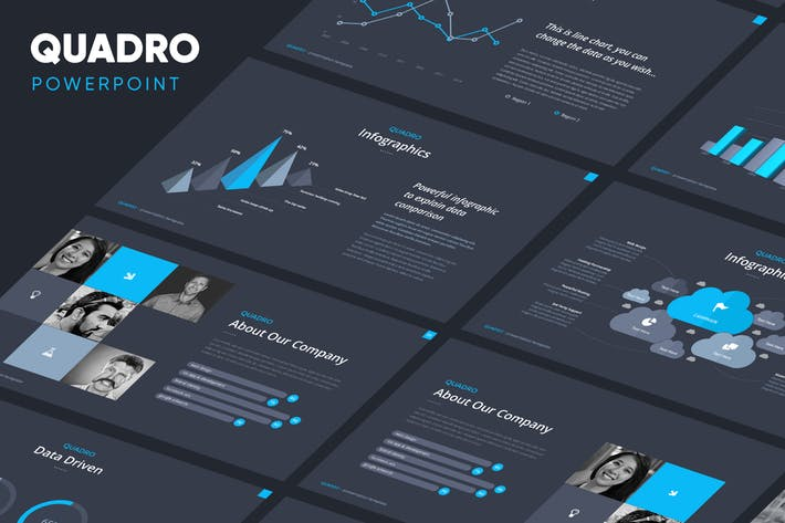 Quadro - Corporate Powerpoint Template