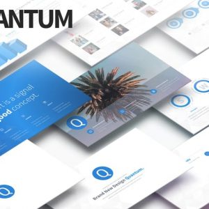 QUANTUM - Multipurpose PowerPoint Presentation