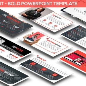 Redlight - Bold Powerpoint Template