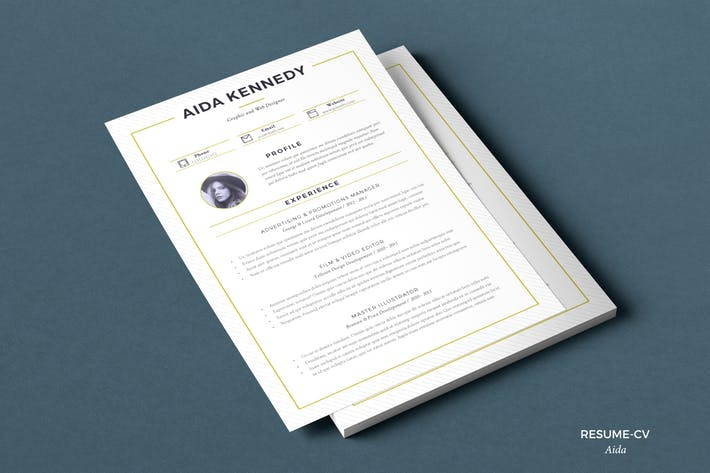 Resume Aida (2 pages)