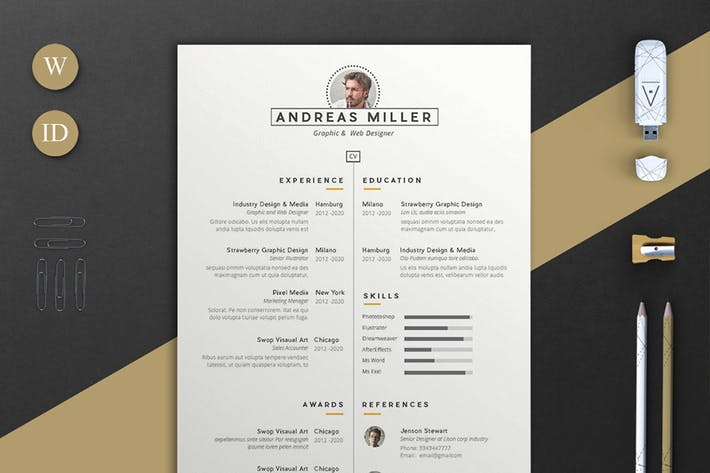 Resume Andreas