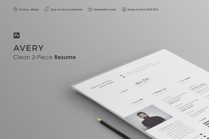 Resume | Avery