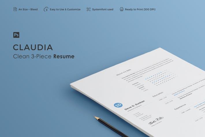 Resume   Claudia