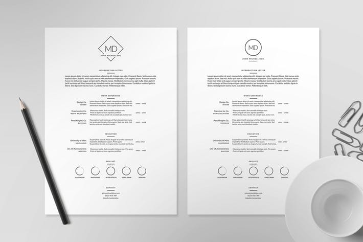Resume/CV Template II