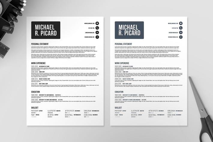 Resume/CV Template VI