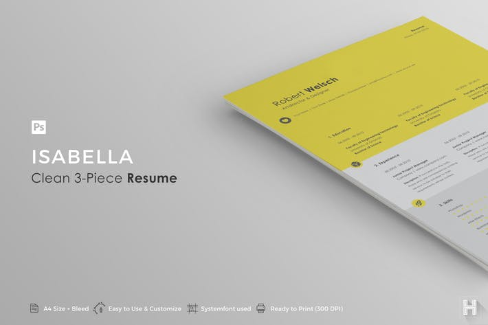 Resume   Isabella