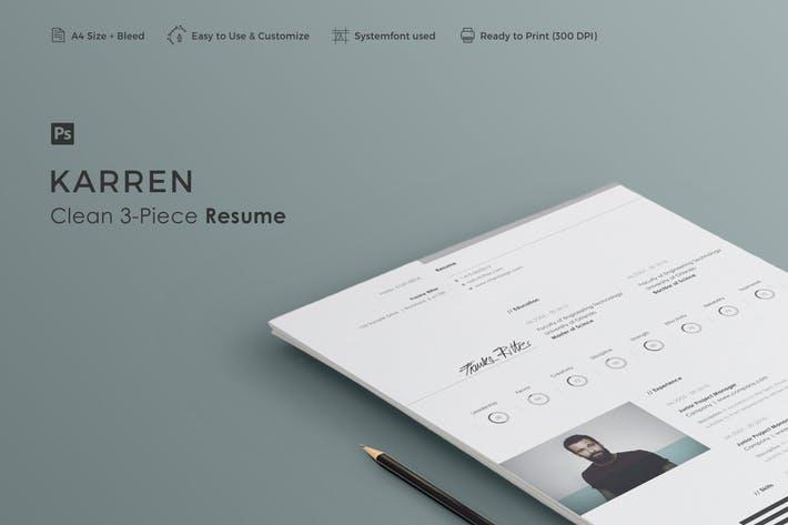 Resume | Karren
