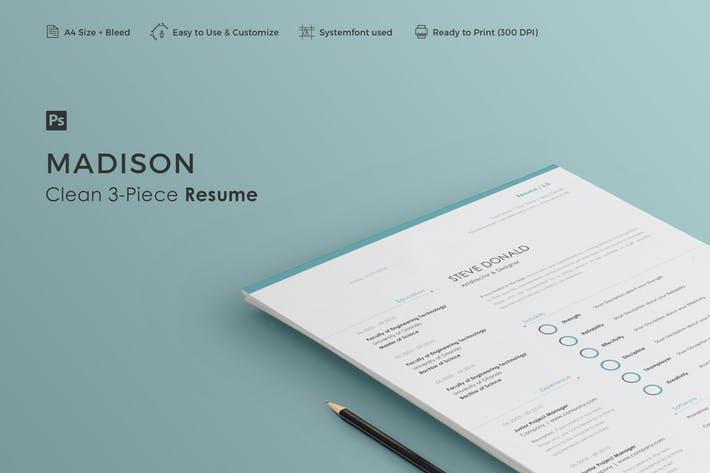Resume | Madison