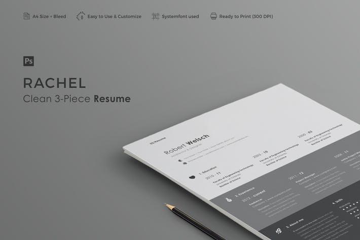 Resume   Rachel