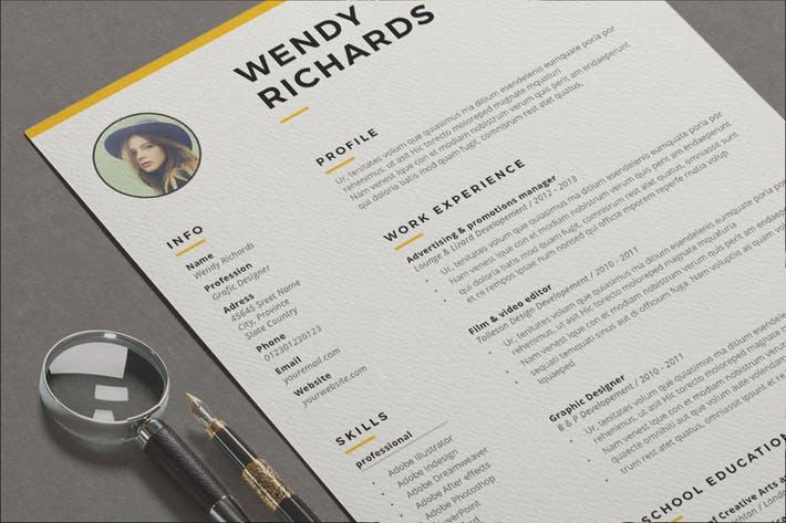 Resume Wendy