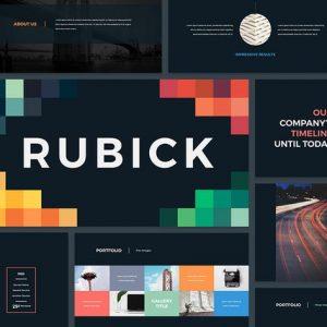Rubick - Presentation Template