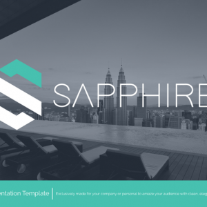 Sapphire Powerpoint Template