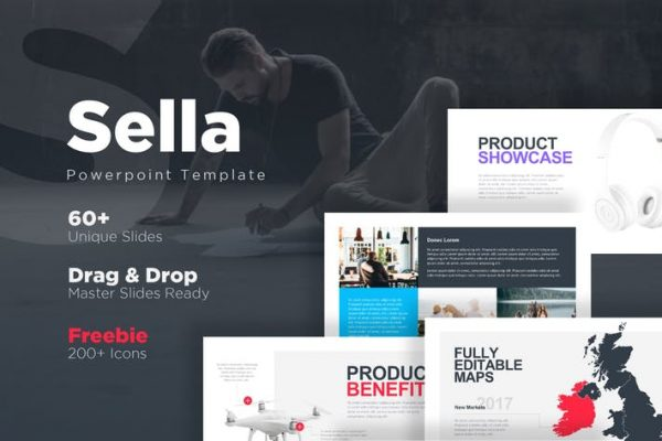 Sella Powerpoint Template