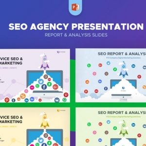 SEO Agency Report & Analysis PowerPoint