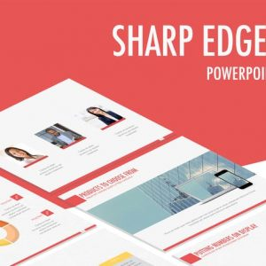 Sharp Edges PowerPoint Template