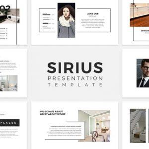 Sirius - Presentation Template