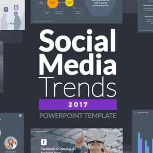 Social Media Trends 2017 - Powerpoint Template