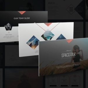 Spacefolk PowerPoint Template
