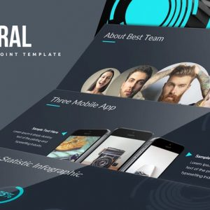 Spiral Powerpoint Template