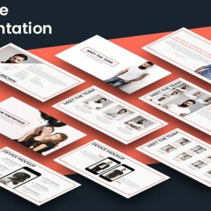 SQUARE Powerpoint Presentation Template