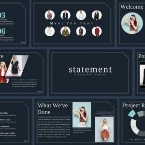 Statement - Powerpoint Template