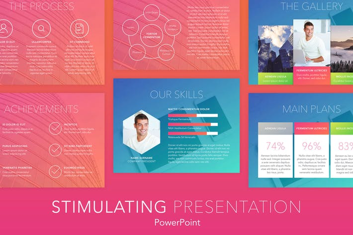 Stimulating PowerPoint Template
