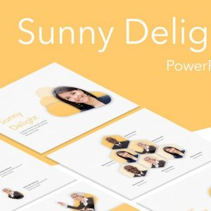 Sunny Delight PowerPoint Template