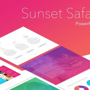 Sunset Safari PowerPoint Template