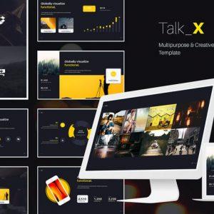 TalkX Multipurpose Template (Powerpoint)