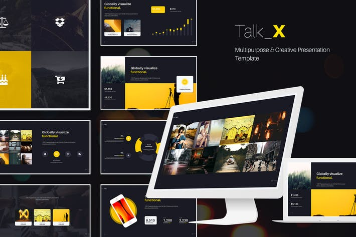 TalkX Multipurpose Template (Powerpoint)