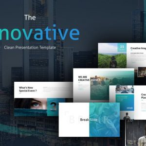 The Innovative Clean PowerPoint Template