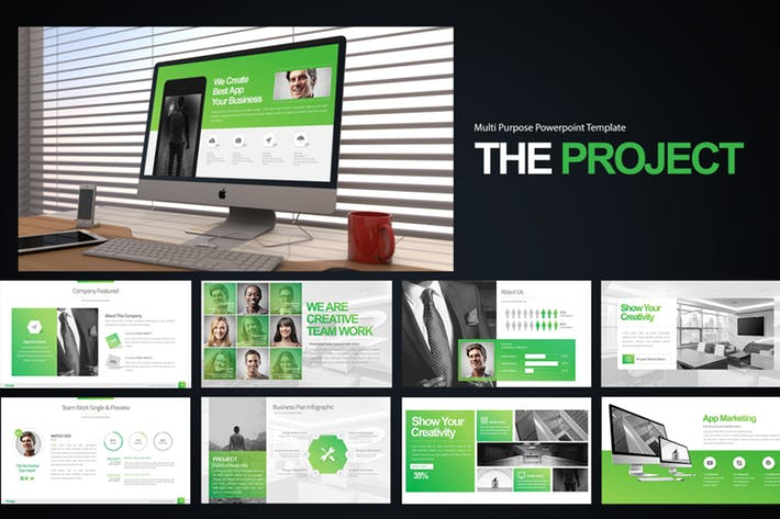 The Project Powerpoint Presentation