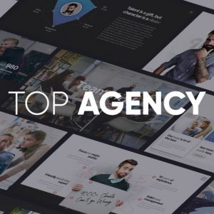 TOP AGENCY - Professional Powerpoint Template
