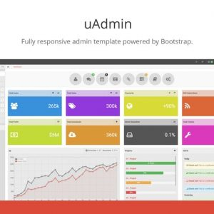 uAdmin - Bootstrap Admin Template