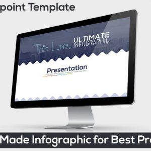 Ultimate Thin Line Powerpoint Infographic