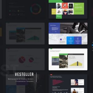 Vesteller Multipurpose Template