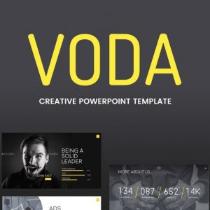 Voda - Creative Powerpoint Template
