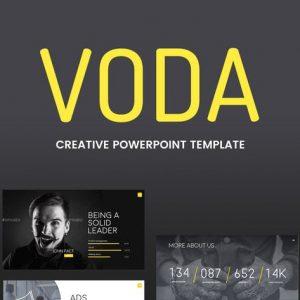 Voda - Creative Powerpoint Template