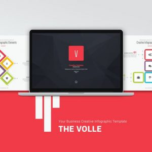 Volle Creative & Colored Template