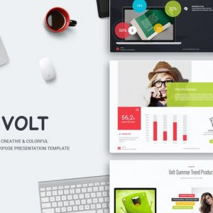 Volt Multipurpose Template