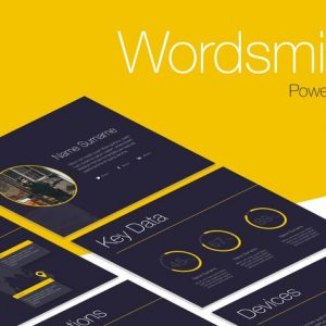 Wordsmith PowerPoint Template