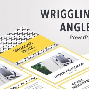 Wriggling Angles PowerPoint Template