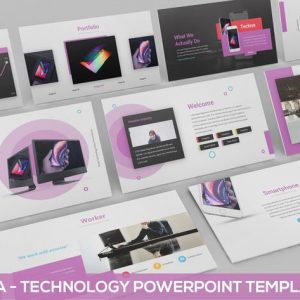 XAMARA - Technology Powerpoint Template