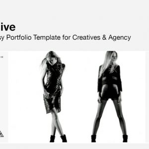ALIVE - Portfolio Template for Creatives & Agency