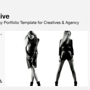 ALIVE - Portfolio Template for Creatives & Agency