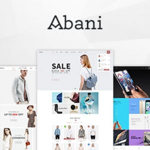 Abani – Multi Purpose eCommerce HTML Template