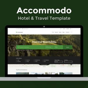 Accommodo - Hotel & Travel Template