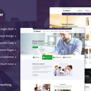 Advisor | Consulting, Business, Finance Template
